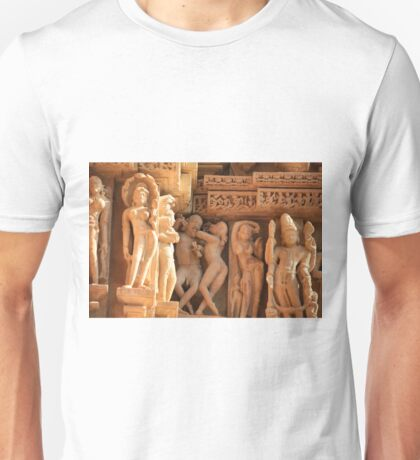 Khajuraho, birthplace of the Karma Sutra Unisex T-Shirt