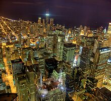 Looking Northeast from Sears Tower, part trois. by delobbo