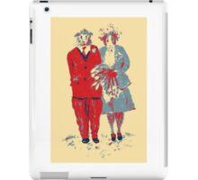 The Guinea Pig Wedding (Art Style) iPad Case/Skin