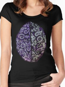 Purple Brains Women's Fitted Scoop T-Shirt