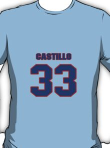 National baseball player Alberto Castillo jersey 33 T-Shirt