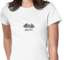 going batty Womens Fitted T-Shirt