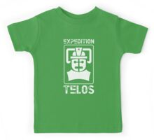 The Tomb of the Cybermen - Doctor Who - Patrick Troughton Kids Tee