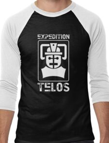 The Tomb of the Cybermen - Doctor Who - Patrick Troughton Men's Baseball ¾ T-Shirt