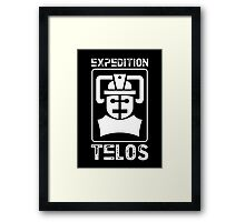 The Tomb of the Cybermen - Doctor Who - Patrick Troughton Framed Print