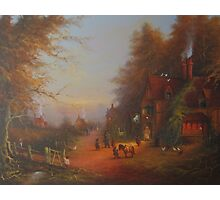 Departing The Inn.  Photographic Print