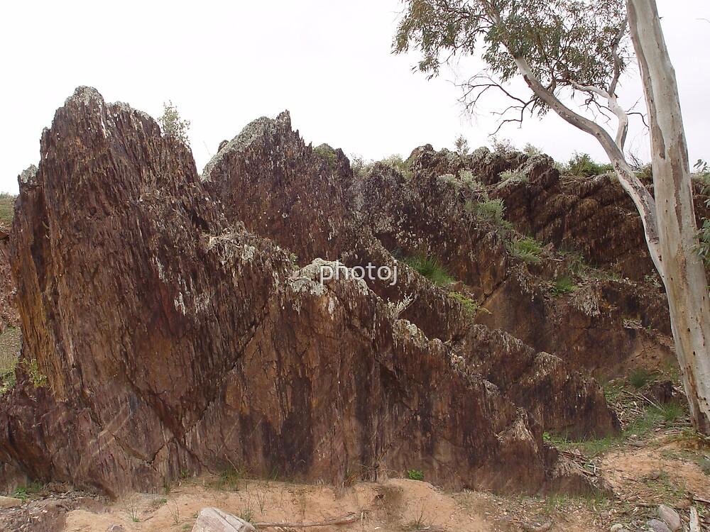 South Australia, Flinders Ranger's Rugged Landscape by photoj