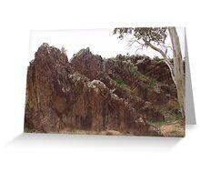 South Australia, Flinders Ranger's Rugged Landscape Greeting Card