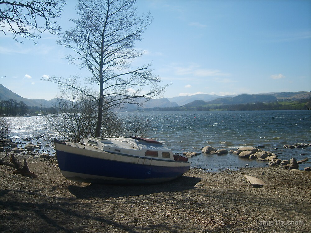 Boat by the Lake by Tanya Housham