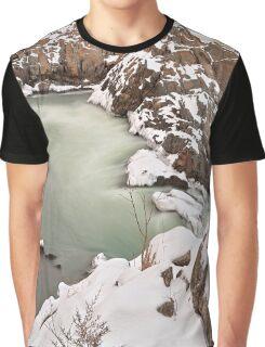 Great Winter Jade Falls Graphic T-Shirt