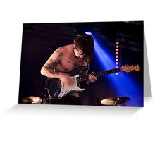 Biffy Clyro 11 Greeting Card