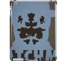 Watchmen - Rorscach iPad Case/Skin
