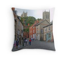 Lincoln from Steep Hill Throw Pillow