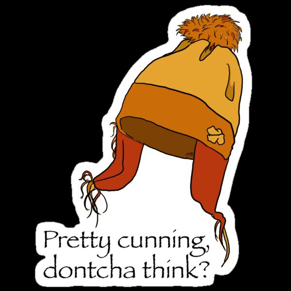 pretty cunning dontcha think? by Jemina Venter
