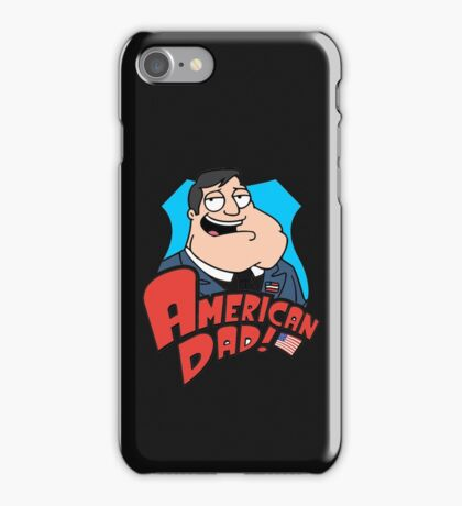 american dad iPhone Case/Skin