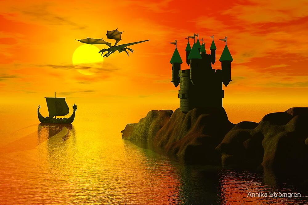 Medieval fantasy by Annika Strömgren