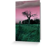 The Rihanna Tree, Playing With Pink! Greeting Card