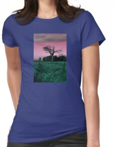 Rihanna Tree, Playing With Pink! Womens Fitted T-Shirt