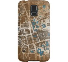 Distressed Maps: His Dark Materials Lyra's Oxford Samsung Galaxy Case/Skin