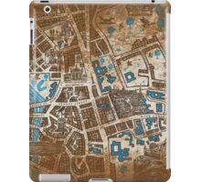 Distressed Maps: His Dark Materials Lyra's Oxford iPad Case/Skin