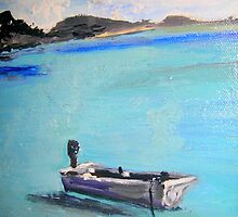 Whitehaven -Whitsunday Islands by gillsart