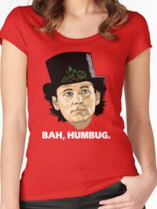 Bah, Humbug. Women's Fitted Scoop T-Shirt
