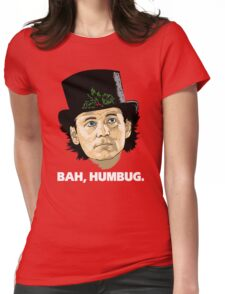 Bah, Humbug. Womens Fitted T-Shirt