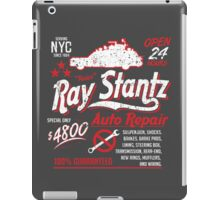 Ray Stantz Auto Repair iPad Case/Skin