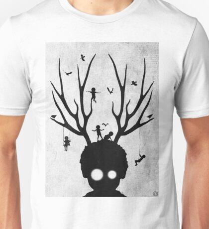 dear imaginary friends (black and white) Unisex T-Shirt