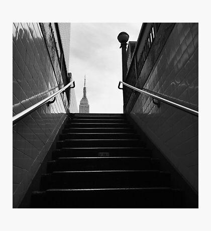 Subway x Empire Photographic Print