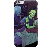 Teen Nebula + Gamora iPhone Case/Skin