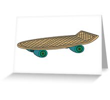 PENNY BOARD Greeting Card