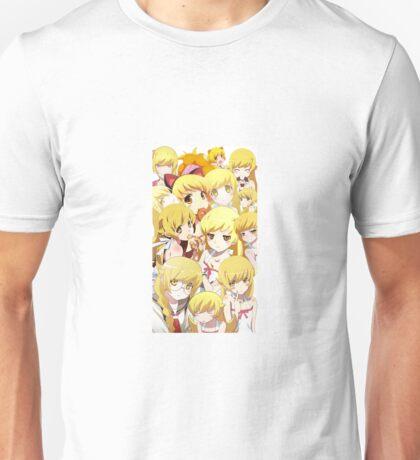 Shinobu Collage - Monogatari Unisex T-Shirt