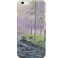 Fog in the Forest iPhone Case/Skin