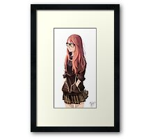 Red Hair  Framed Print