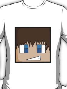 Minecraft head  T-Shirt