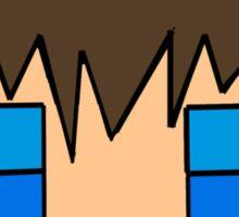 Minecraft head  Sticker