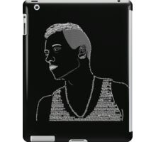 Macklemore Typography Black iPad Case/Skin
