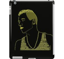 Macklemore Typography Gold iPad Case/Skin