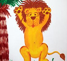 Lion Art by Maria Dryfhout
