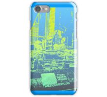 New York City Blue/Yellow iPhone Case/Skin