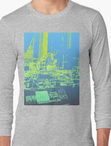 New York City Blue/Yellow Long Sleeve T-Shirt