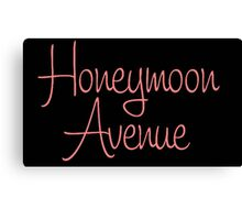 Honeymoon Avenue Canvas Print