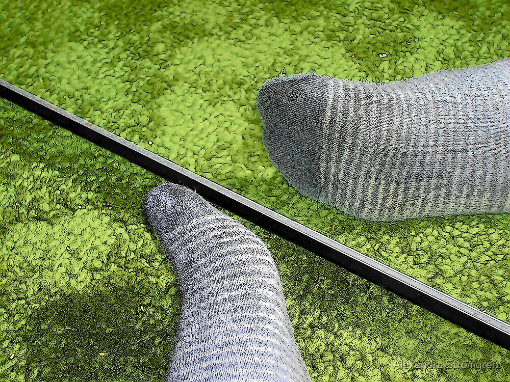 My foot by Alexandra Strömgren