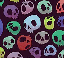 Skulls by Maddie Chaffer