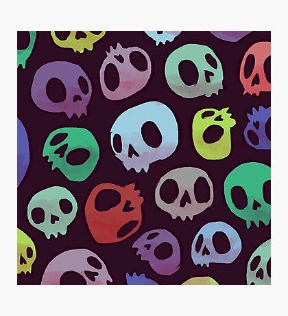 Skulls Photographic Print