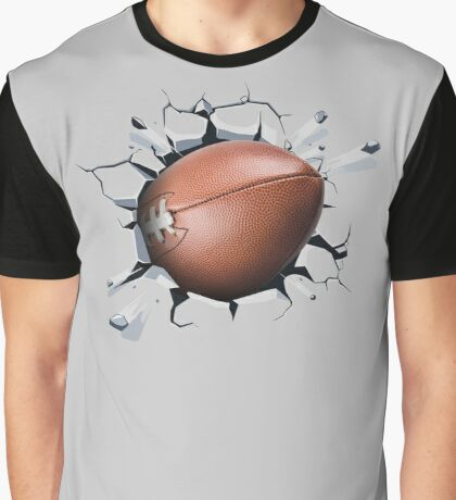 Football Breaking Records Fanatics  Graphic T-Shirt