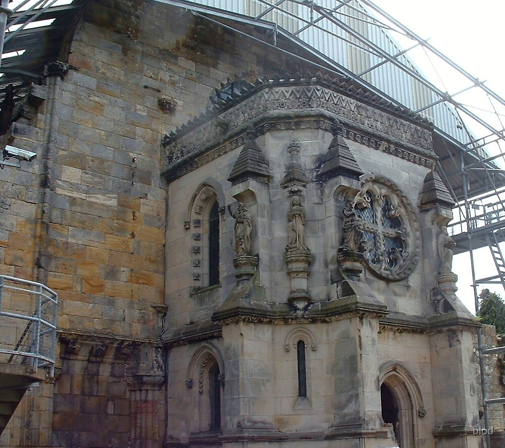 Rosslyn Chapel (of the Davinci Code) by blod