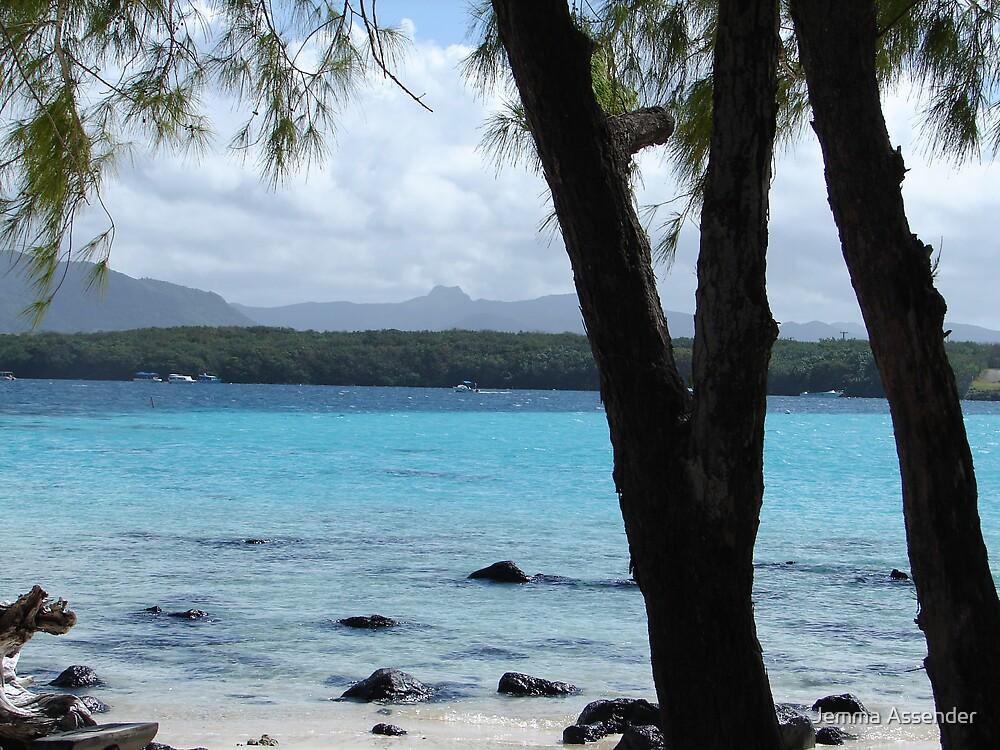 Mauritius Beachscape by Jemma Assender