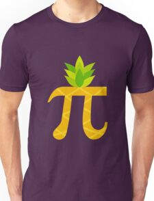 Funny Pi-neapple Pi Day 2017 Colorful Sign Humor Gift Unisex T-Shirt